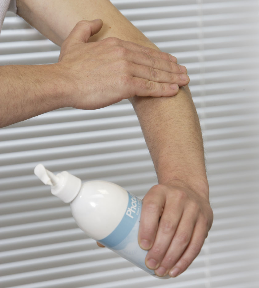 chico crema brazo